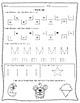 Kindergarten Morning Work/ Homework - Beginner Level