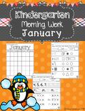Kindergarten Morning Work (January)