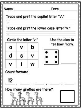kindergarten morning work no prep daily common core worksheets for  kindergarten morning work no prep daily common core worksheets for  days