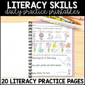 May Morning Work for Kindergarten