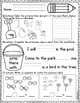 Kindergarten Morning Work: June
