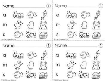 Kindergarten Morning Work {Phonemic Awareness - Beginning Sound Practice}