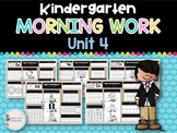 Kindergarten Morning Work UNIT 4