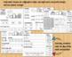 Kindergarten Morning Work Wks 28-36 Blends, Digraphs, Sight Words, Math, Science