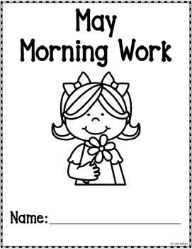 Kindergarten Morning Work - May
