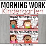 Morning Work Kindergarten