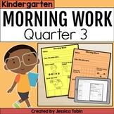 Kindergarten Morning Work 3rd Quarter