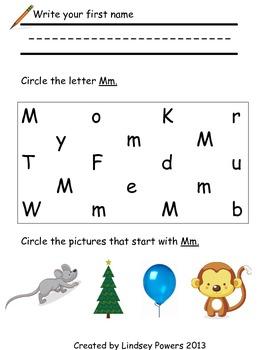 Kindergarten Morning Work or Summer Review