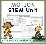Kindergarten Motion STEM Unit