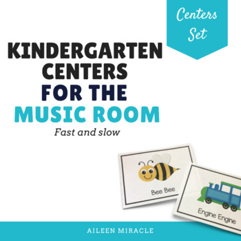 Kindergarten Music Centers {Fast and Slow}