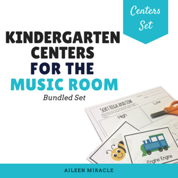 Kindergarten Music Centers {Growing Bundle}