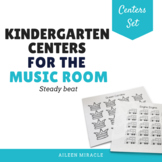 Kindergarten Music Centers {Steady Beat}