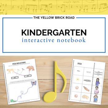 Kindergarten Music Interactive Notebook