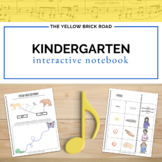 Kindergarten Music Interactive Notebook