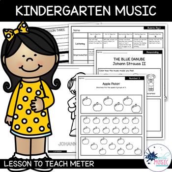 Kindergarten Music Lesson : Meter {Lesson 3}