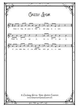 Kindergarten Music Lesson Plan {Day 10}