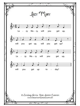Kindergarten Music Lesson Plan {Day 14}
