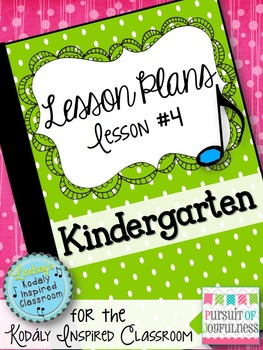 Kindergarten Music Lesson Plan {Day 4}