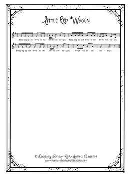 Kindergarten Music Lesson Plan {Day 6}