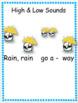 Kindergarten Music Lesson Plan {Pitter, Patter Rain Is Falling Down- Kodaly}
