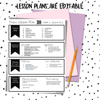 Kindergarten Music Lessons, Second Semester