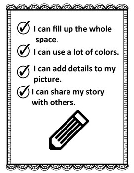 """Kindergarten """"My 1st Writing Journal"""" My Pictures Tell A Story"""