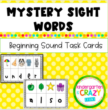 Mystery Sight Words