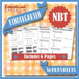 Kindergarten NBT Worksheets: Number & Operations in Base Ten Worksheets, K