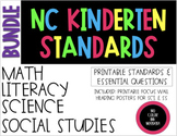2018-19 Kindergarten NC Standards & Essential Questions ELA, Math, Science, SS