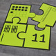 Kindergarten NEW Math TEKS K.2BD: Number Puzzles (Numbers 1-20)