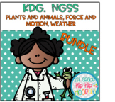 Kindergarten NGSS Bundle