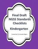 Kindergarten NGSS Checklist