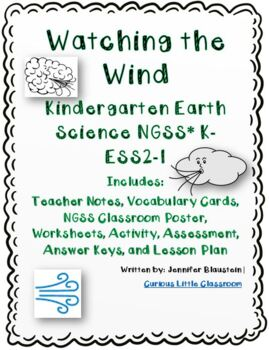 Kindergarten Earth Science -Anemometer