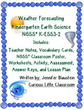 Kindergarten Earth Science -Weather