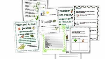 Kindergarten Life Science Bundle
