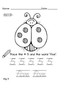 Kindergarten NO PREP Basics {Week 5}