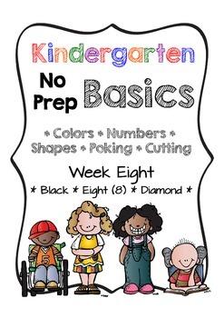 Kindergarten NO PREP Basics {Week 8}