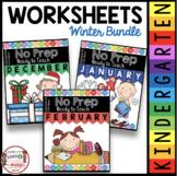 Kindergarten READY TO TEACH  Math and Literacy Pack - Wint