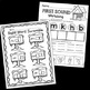Snowman Math and Reading Activities - Winter Worksheets - Kindergarten No Prep