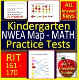 Kindergarten NWEA MAP Math Test Prep Primary Practice RIT Bands 161 - 170