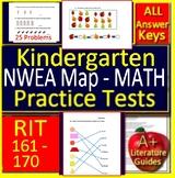 Kindergarten NWEA MAP Math Test Prep Primary Practice RIT Bands 161 - 170