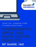 Kindergarten NWEA MAP Math Practice Pages [RIT >160]