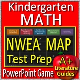 Kindergarten NWEA Map MATH Test Prep Game Primary - RIT Below 161 AND 161 - 170