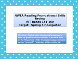 Kindergarten NWEA Primary Reading Foundational Skills