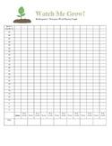 Kindergarten NWF Chart/Graph for monitoring progress!