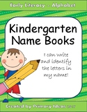 Kindergarten Name Book