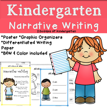 Kindergarten Narrative Writing (Common Core Aligned)