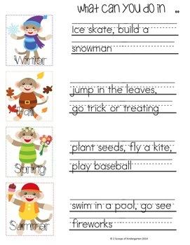 Kindergarten Narrative Writing (Common Core Aligned)