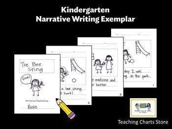 Kindergarten Personal Narrative Writing Exemplar (Lucy Calkins Inspired)
