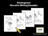 Kindergarten Personal Narrative Writing Exemplar (Lucy Cal